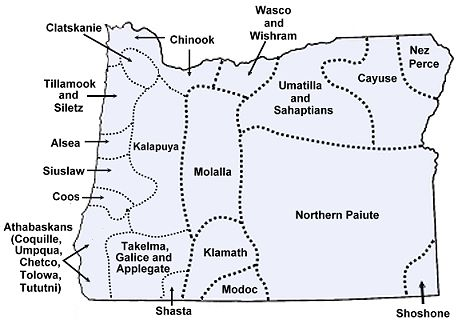 Tillamook Tribes Of Oregon